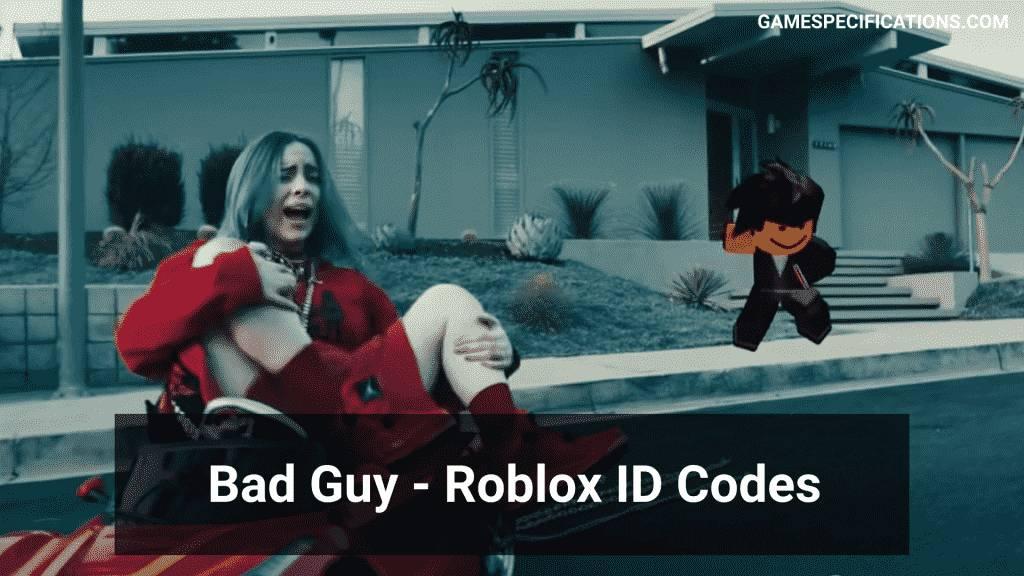 bad guy roblox id