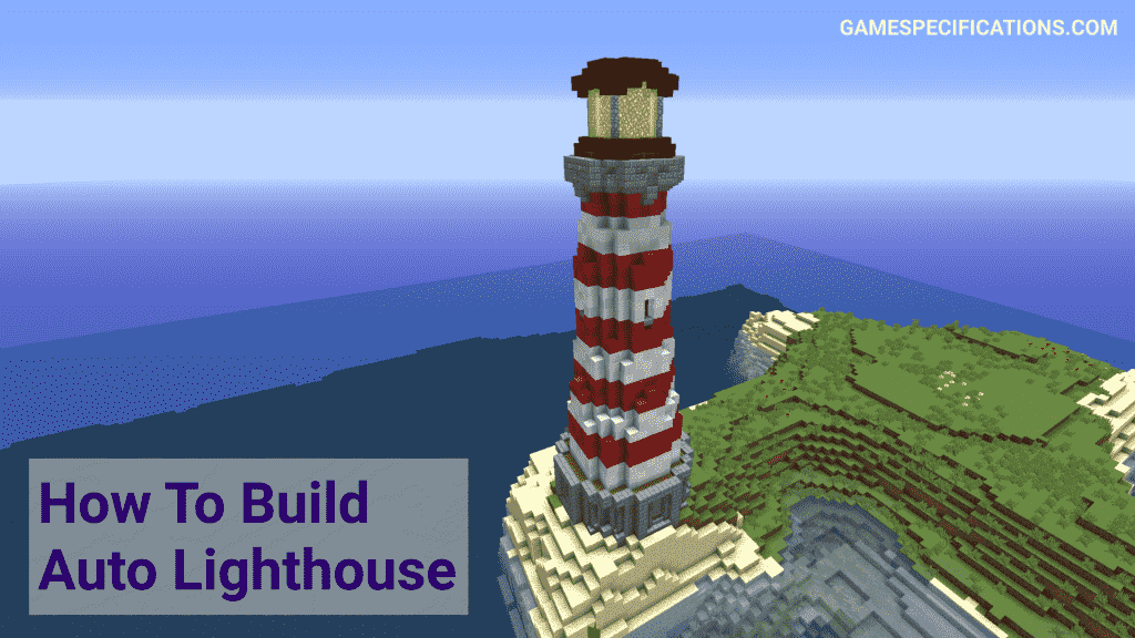 lighthouse minecraft