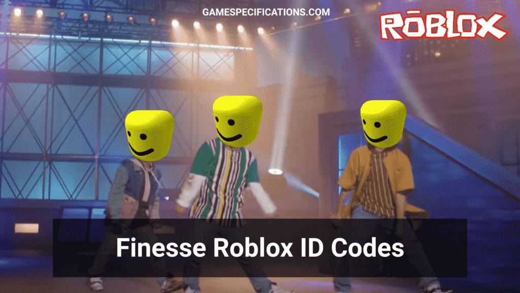 Finesse Roblox ID