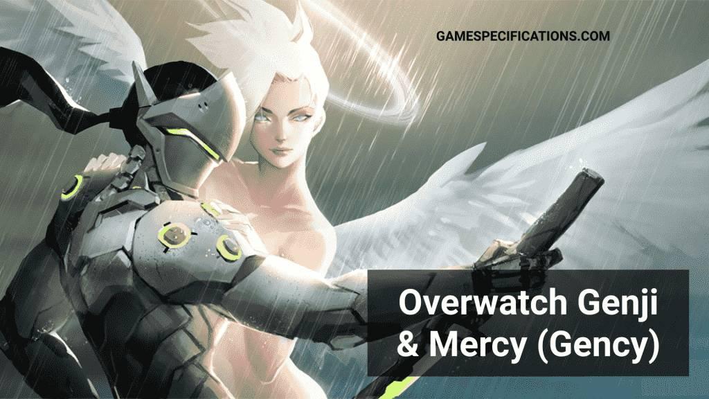 Overwatch Genji and Mercy
