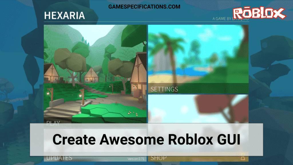 Roblox GUI