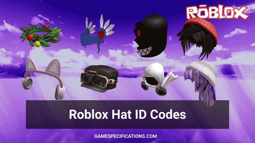 Roblox Hat ID Codes