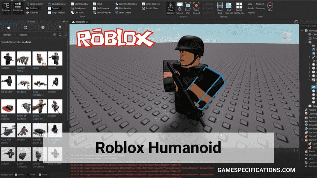 Roblox Humanoid