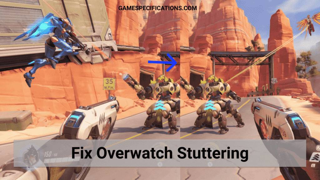 fix overwatch stuttering