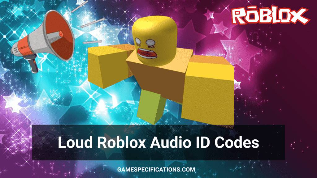 roblox loud id codes