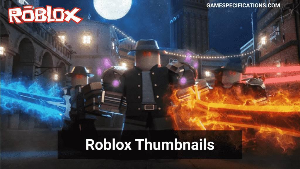 roblox thumbnails