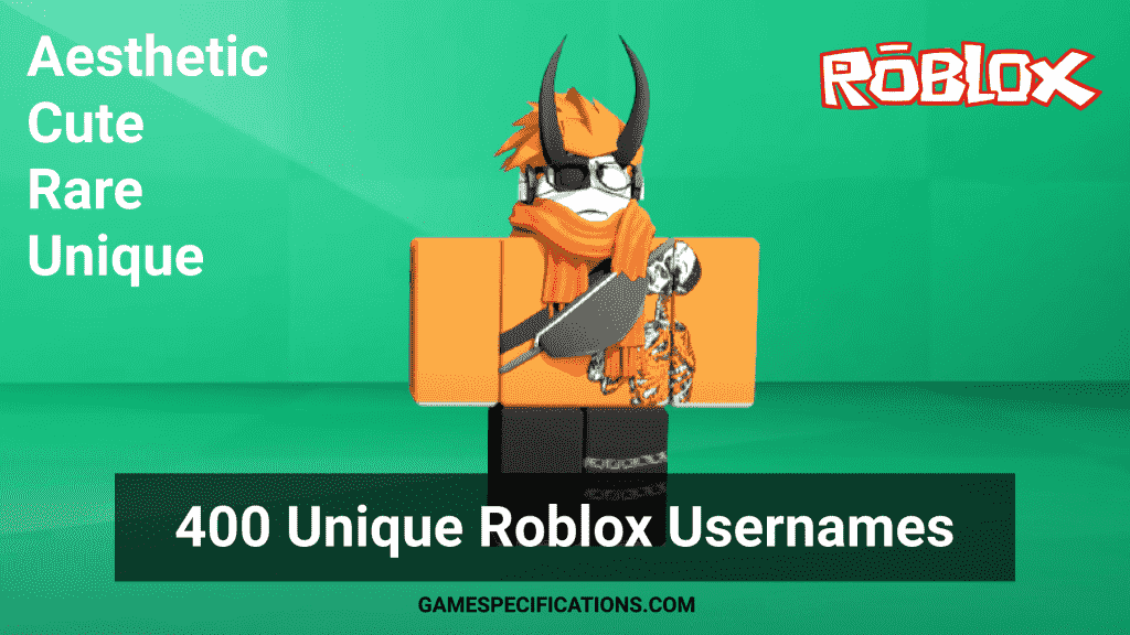 Roblox Usernames