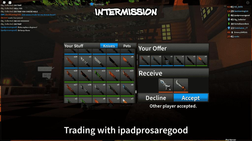 Assassin Roblox Trading