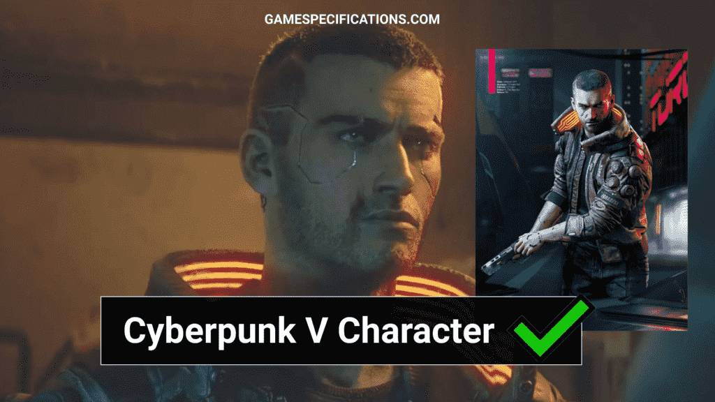 Cyberpunk V character