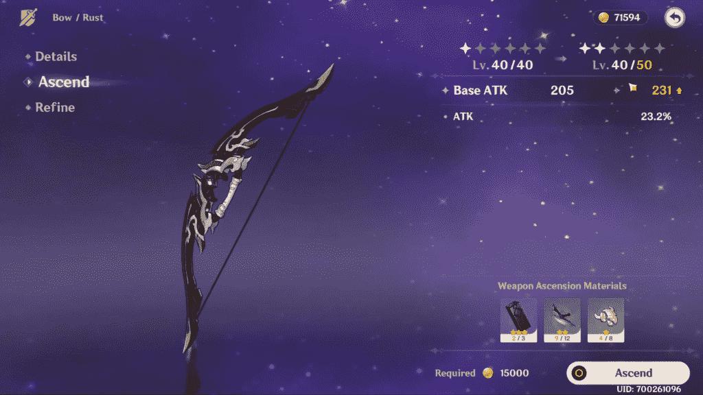 Genshin Impact Bows