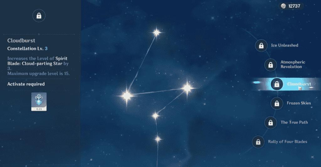 Chongyun Constellations