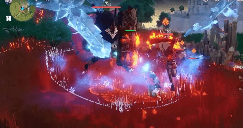 Chongyun Elemental Attack