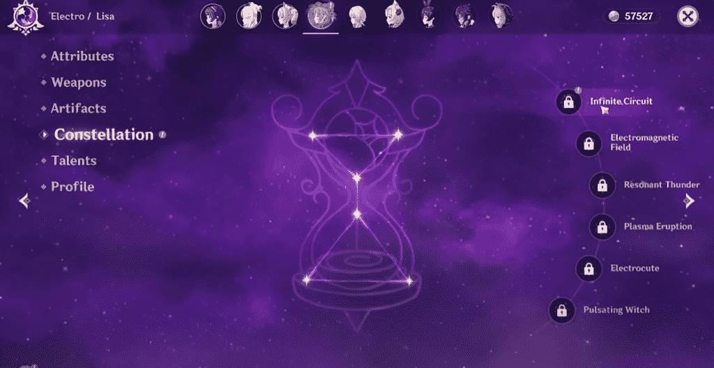 Lisa Constellations