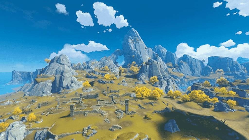 Liyue Mt. Tianheng