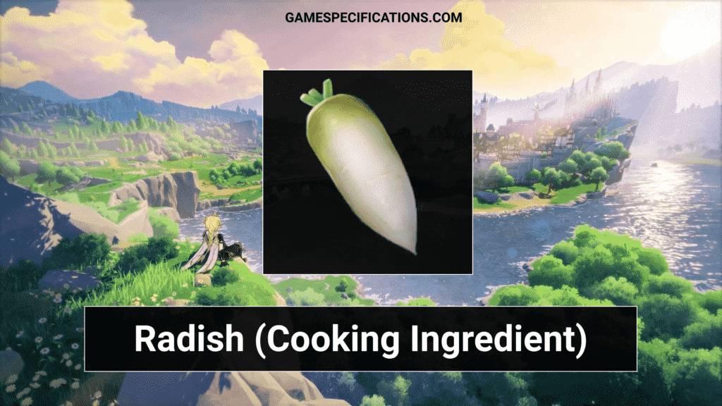 Genshin Impact Radish