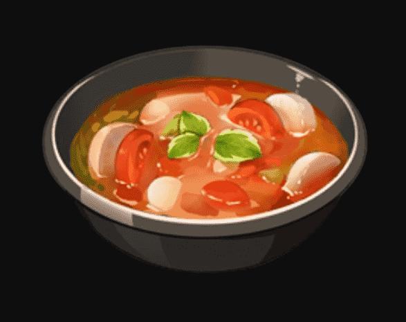 Genshin Impact Radish Veggie Soup