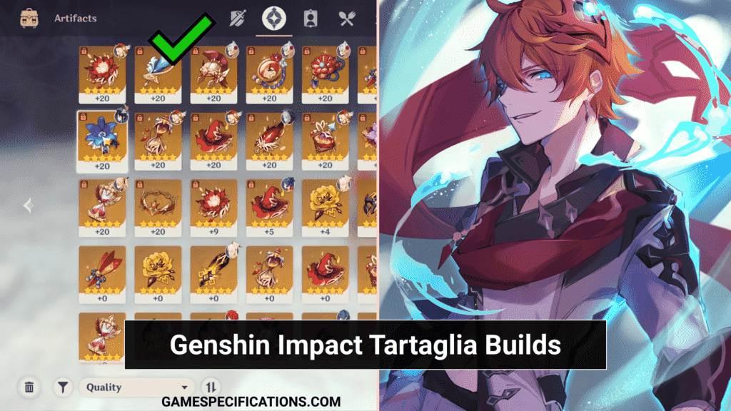 Genshin Impact Tartaglia Builds