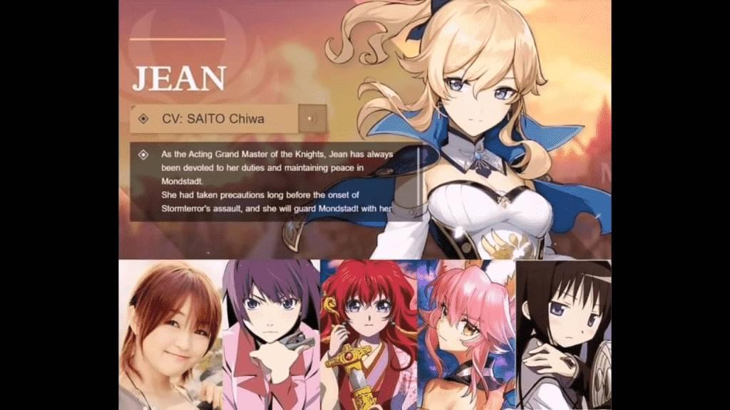 Jean Voice Actor