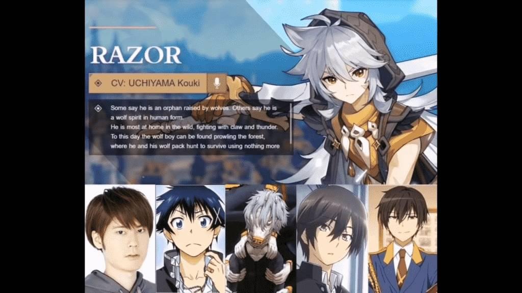 Razor Voice Actor