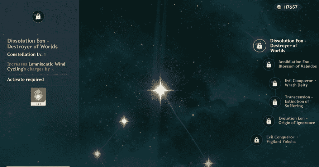 Xiao Constellation
