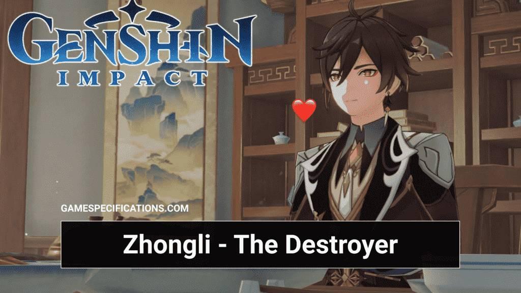 Genshin Impact Zhongli