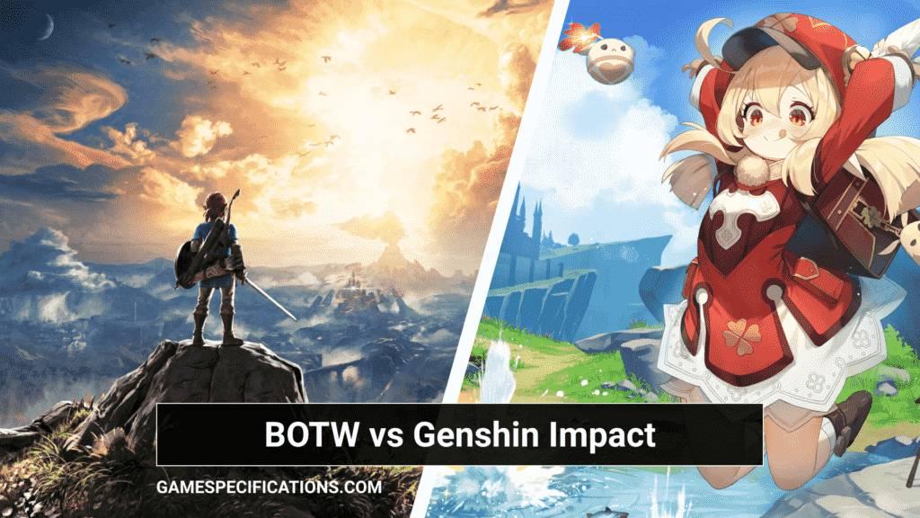 Genshin Impact vs BOTW