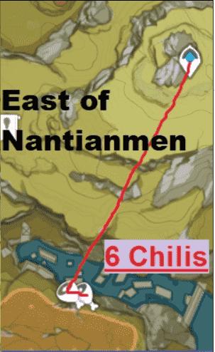 Genshin Impact East Of Nantianmen