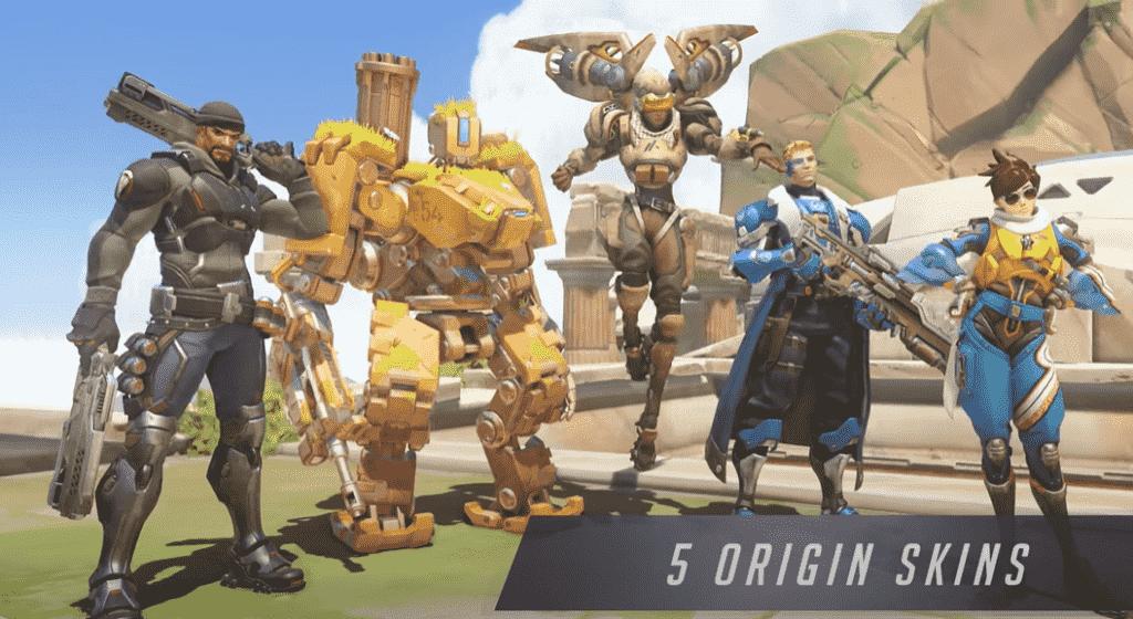 Overwatch Legendary Edition Origin Skins