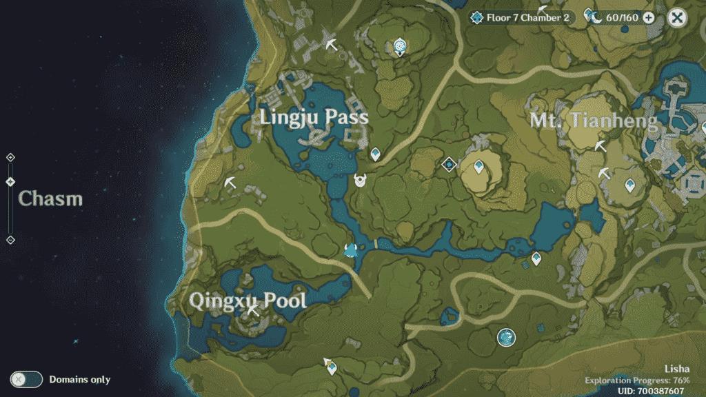 Unusual Hilichurl Genshin Impact Location Lingju Pass