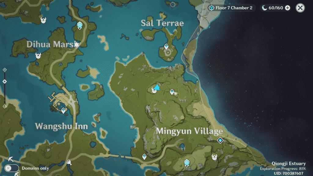 Unusual Hilichurl Genshin Impact   Location Mingyun Village