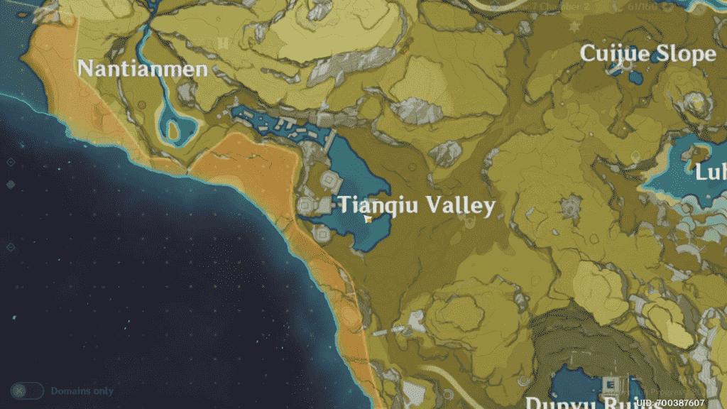 Unusual Hilichurl Location Tianque Valley