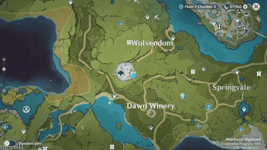 Unusual Hilichurl Location Wolvendom Area