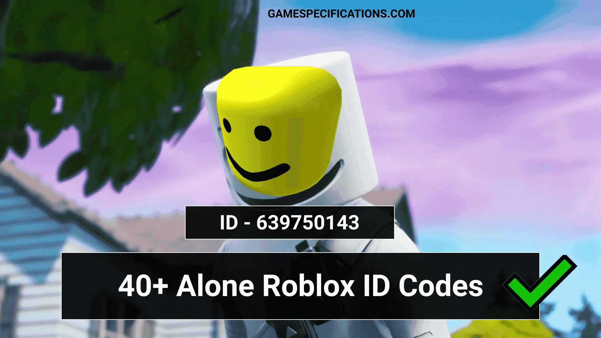 40+ Popular Alone Roblox ID Codes 2021 - Game Specifications