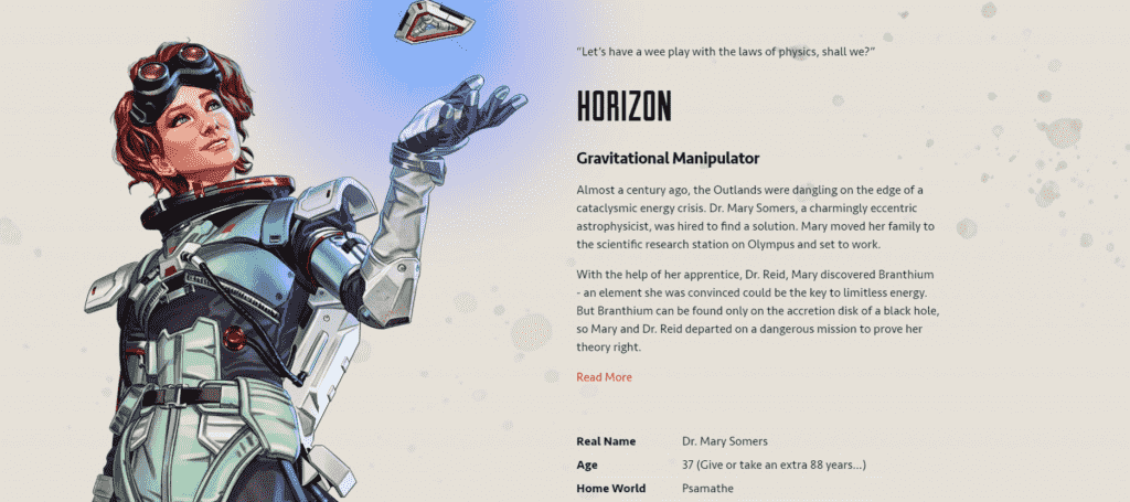 Apex Legends Horizon