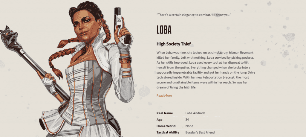 Apex Legends Loba