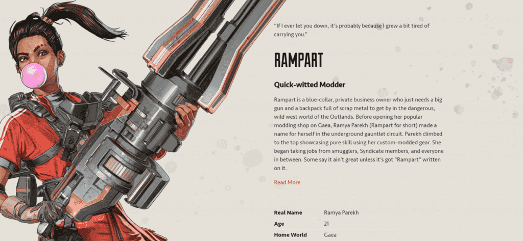 Apex Legends Rampart