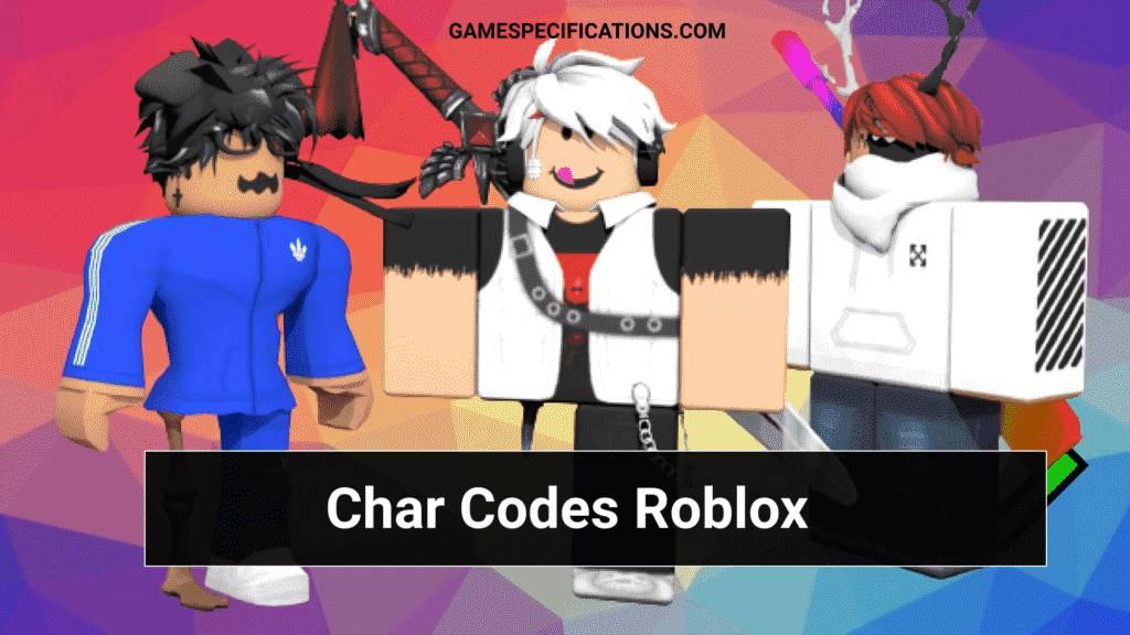 Char Codes Roblox