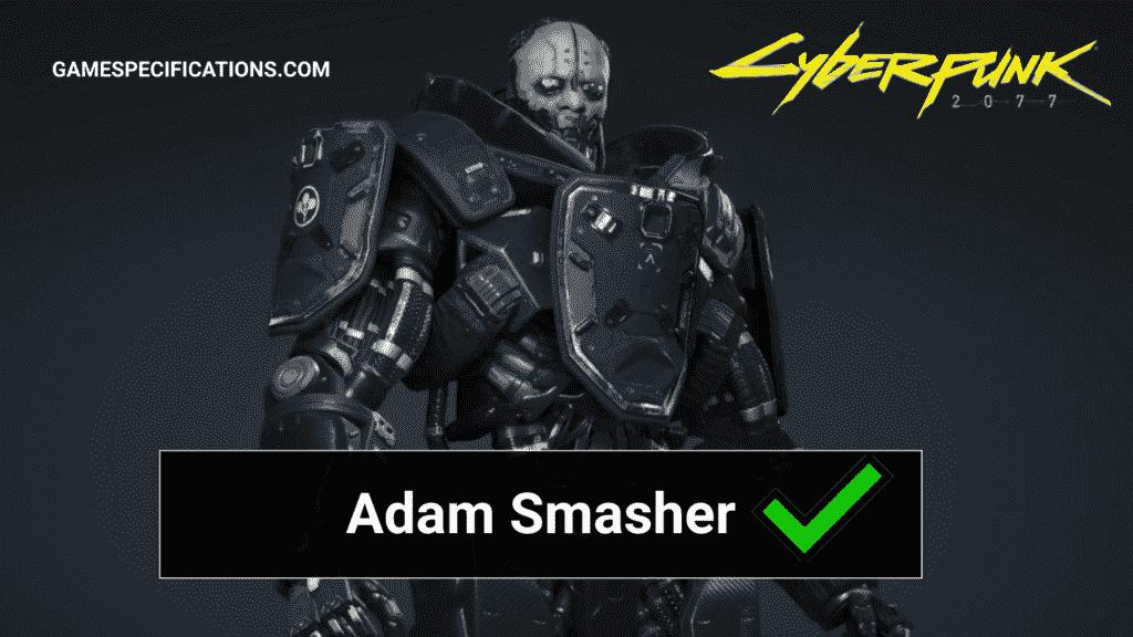Cyberpunk Adam Smasher
