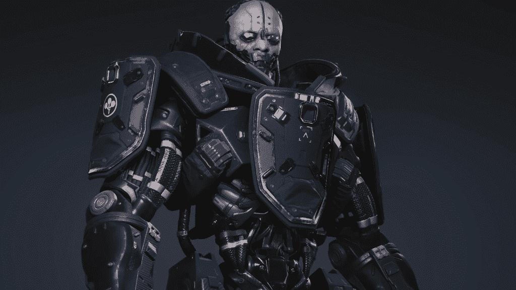 Cyberpunk Adam Smasher 2077
