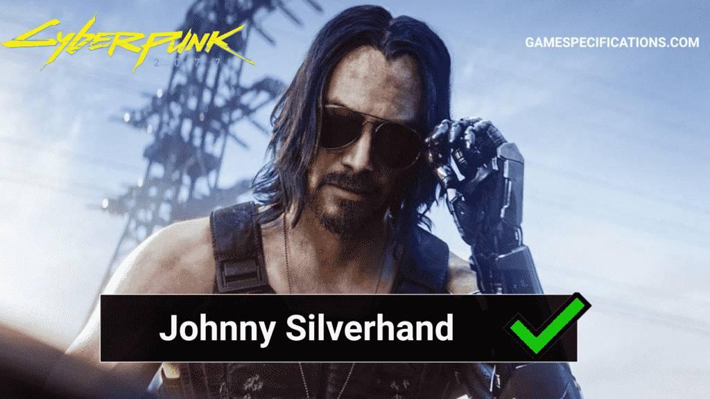 Cyberpunk Johnny Silverhand