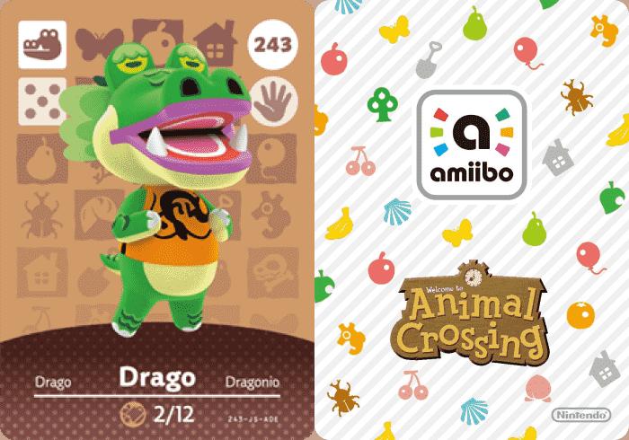 Julian Animal Crossing – Amiibo Card