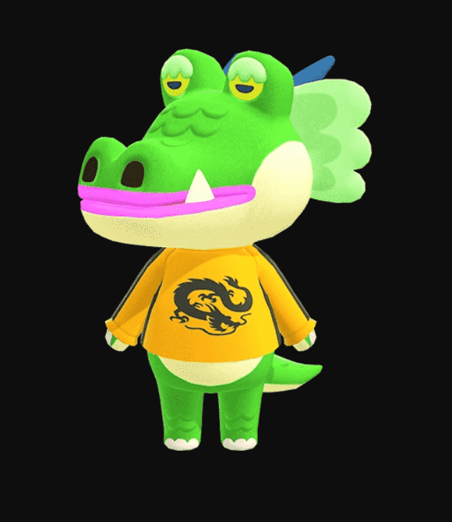 Drago Animal Crossing Appearance