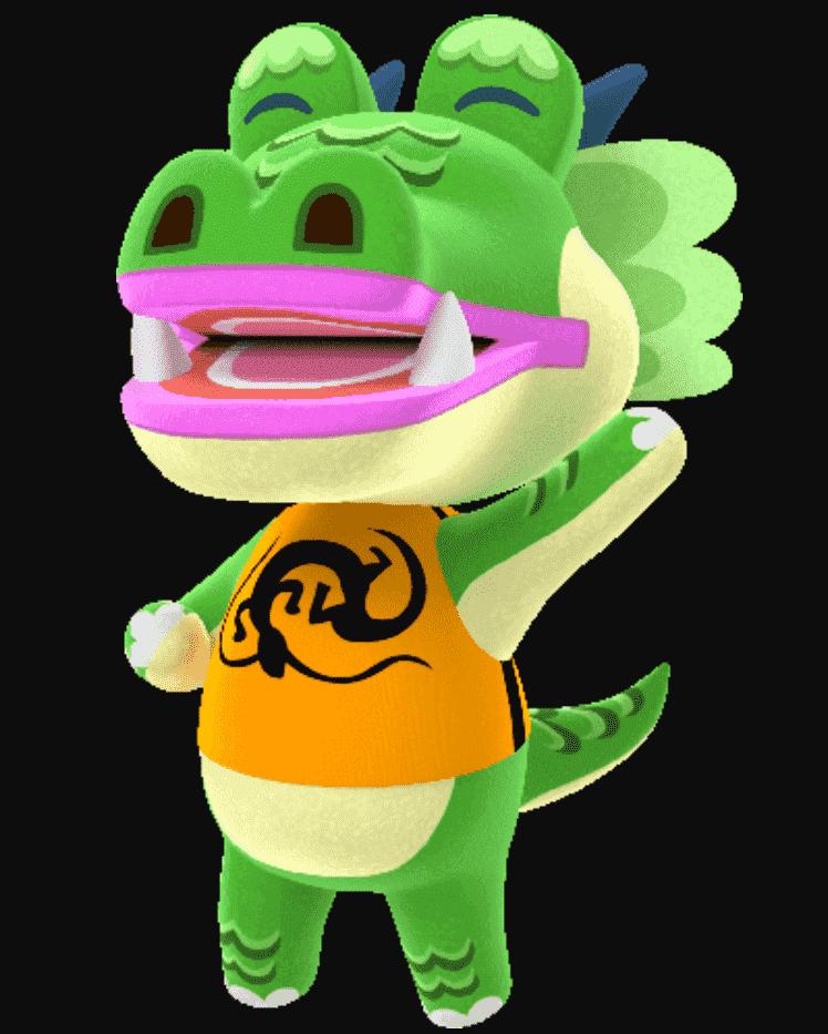 Drago Bio in Animal Crossing