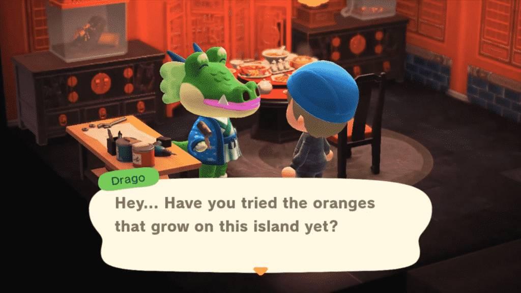 Drago Animal Crossing - Personality