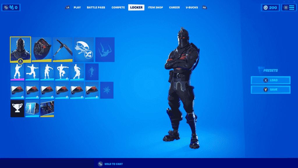Fortnite Best Skins Black Knight