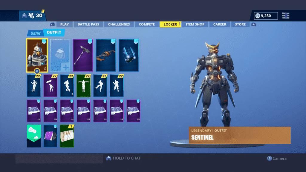 Fortnite Best Skins Sentinel
