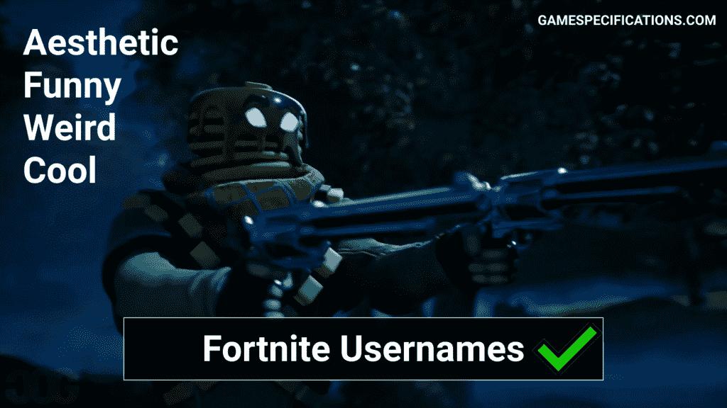 Fortnite Usernames