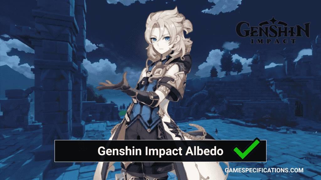 Genshin Impact Albedo