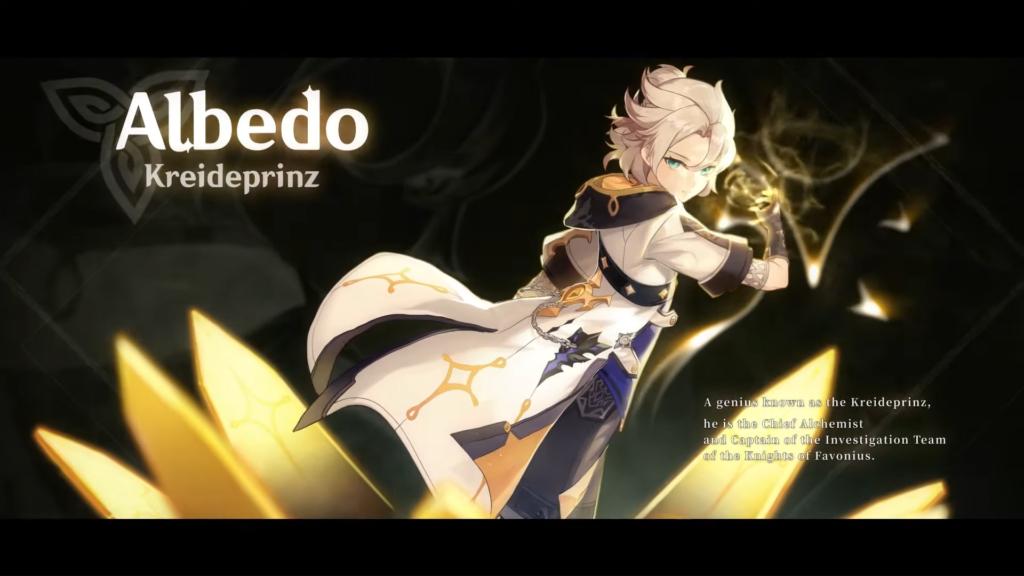 Genshin Impact Albedo Banner
