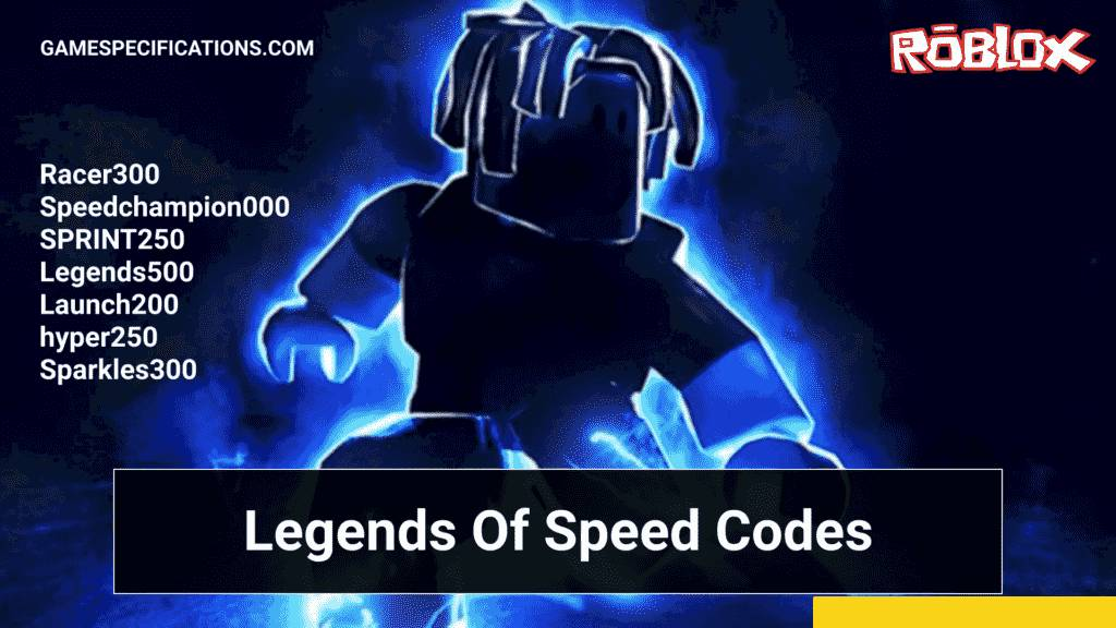 Roblox Codes for Legends of Speed